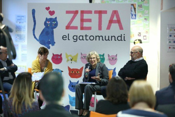 Yo soy Zeta, un libro-gato para los bebés de Madrid