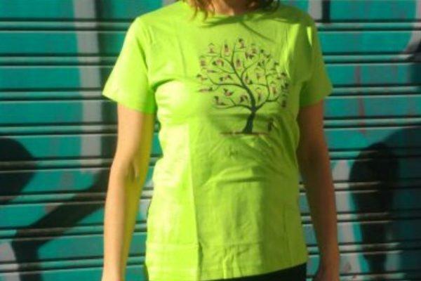 Camiseta manga corta Árbol