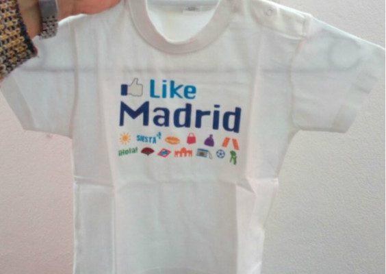 Camiseta Like madrid